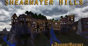 Minecraft Pe Servers Shearwater Hills Mountain Village Map Minecraft Pe Map