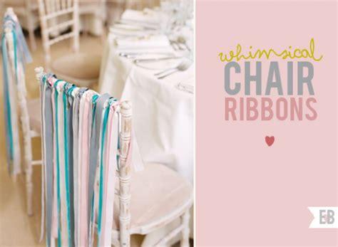 deco chaise mariage decoration de chaise de fetes avec du ruban décoration