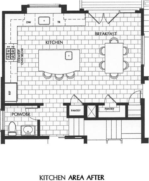 kitchen floor plans with islands amazing kitchen floor plans with islands and breakfast bar