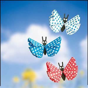Schmetterling Basteln Papier : papier schmetterlinge basteln my blog ~ Lizthompson.info Haus und Dekorationen