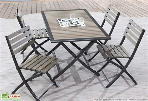 botanic siege table de jardin pliante fly