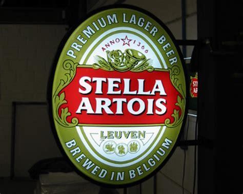 Stella Artois Neon Light Pic
