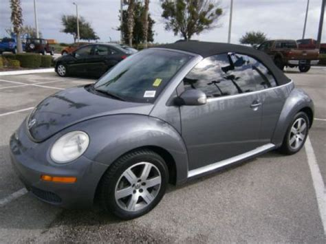2006 Volkswagen Beetle Convertible by Sell Used 2006 Volkswagen Beetle Convertible 2 5l Manual