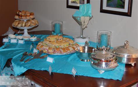 Gloria's blog: Tiffany Co bridal shower food For the Breakfast at Tiffany 39s brunch menu