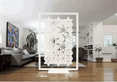 Divider Living Modern Showcase Freestanding