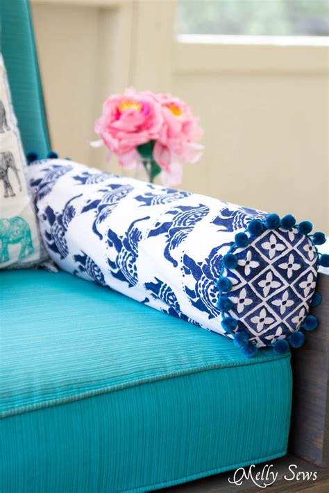 how to sew a pillow how to make or sew a bolster pillow 9 diys shelterness