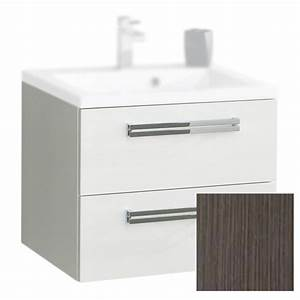 Meuble Vasque 60 Cm : meuble sous vasque alterna seducta c10005wa 60cm 2 tiroirs ~ Dailycaller-alerts.com Idées de Décoration