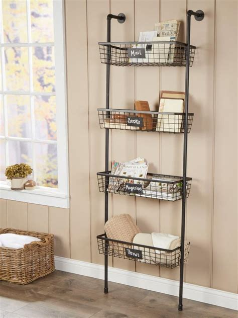 ways    ladder  storage decor hgtv