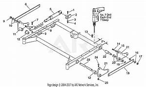 Gravely 791001 50 U0026quot  Deck Electric  Hyd Lift Kit Pm 100