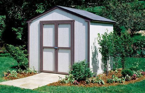 8x8 Shed   Seneca   Value Series Small Sheds Installed