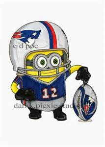 Patriots Football Minions