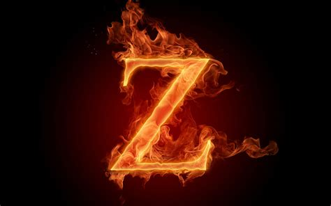Flaming Z Hd Wallpaper  Background Image  1920x1200 Id