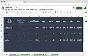 Cash Flow Template In Google Sheets