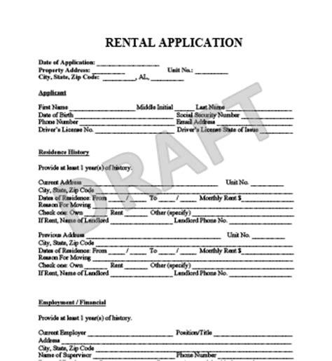 house rental application form ontario rental application form create a free lease application form