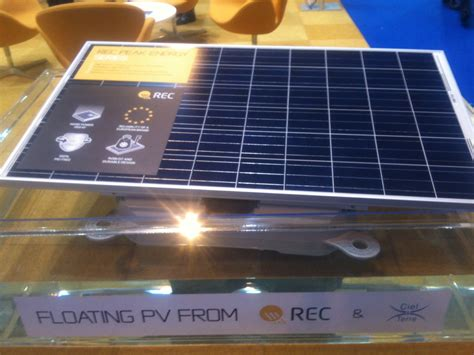 pv module rec rec s floating pv among global technologies brought to solar energy uk solar power portal