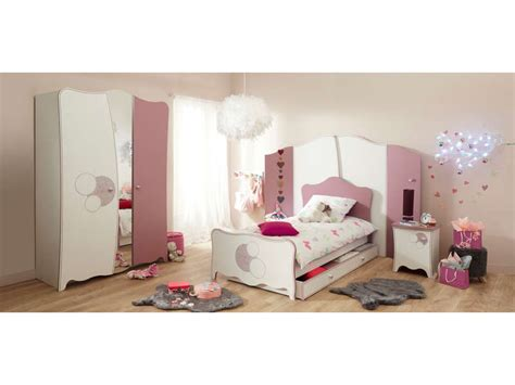 decoration chambre princesse lit 90x190 cm elisa vente de lit enfant conforama