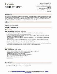 Model Resume Format For Experience Draftsman Resume Samples Qwikresume