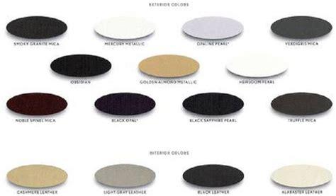 obsidian color chart ls460 ls460 l ls600h l brochure w color chart club