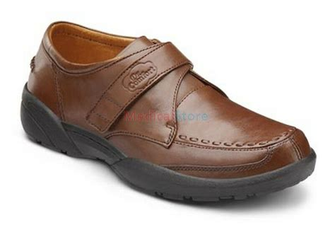 Frank Diabetic Shoes Dr Comfort Mens Leather Velcro Free
