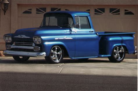 1958 Chevrolet Apache Stepside Custom Pickup 70914