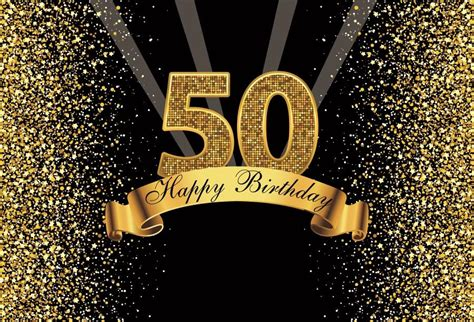happy gold happy  birthday party dots sequins banner