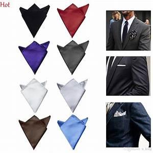 2018 Male Hankerchief Scarves Vintage Hankies Mens Pocket ...