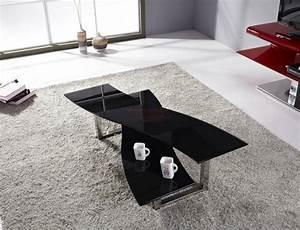 Table Basse Grise Pas Cher : table basse design pas cher ~ Teatrodelosmanantiales.com Idées de Décoration