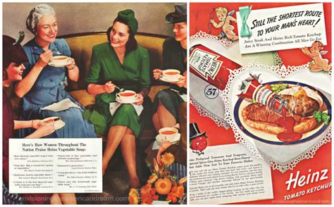 cuisine ad heinz ketchup beckons a envisioning the
