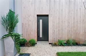 porte d39 entree alu perspective kline menuiseries du With porte entrée kline