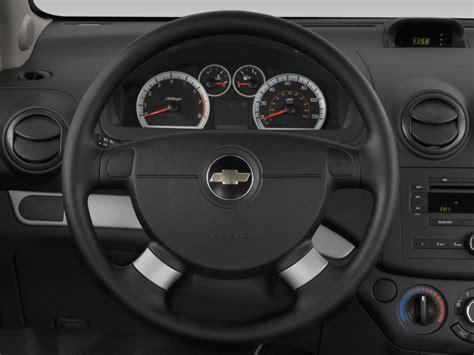 image  chevrolet aveo  door sedan ls steering wheel