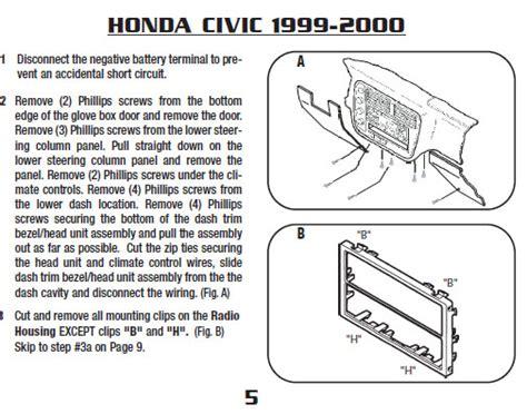 Wiring Diagram 1999 Honda Odyssey Radio by Honda Car Radio Stereo Audio Wiring Diagram Autoradio