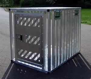 Leerburg full ventilation aluminum dog crate for Aluminum dog crates