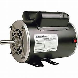 Marathon Electric  3 2hp Air Compressor Motor  3 450 Rpm