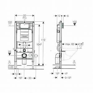 Dimension Wc Suspendu : bati support wc autoportant duofix sigma 12cm bains ~ Premium-room.com Idées de Décoration