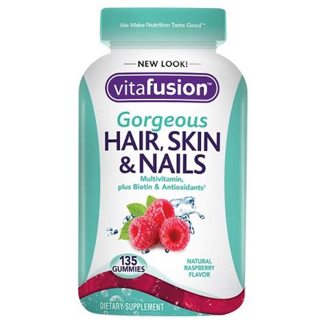 Garden Of Hair Skin Nails by Vitafusion Hair Skin Nails Gummies 1 Target