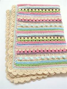 Crochet Baby Blanket Pattern - Confetti - Easy Crochet Pattern