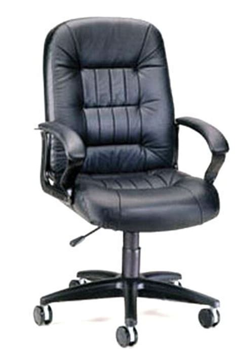 ofm 800 l black leather big and chair gas lift seat