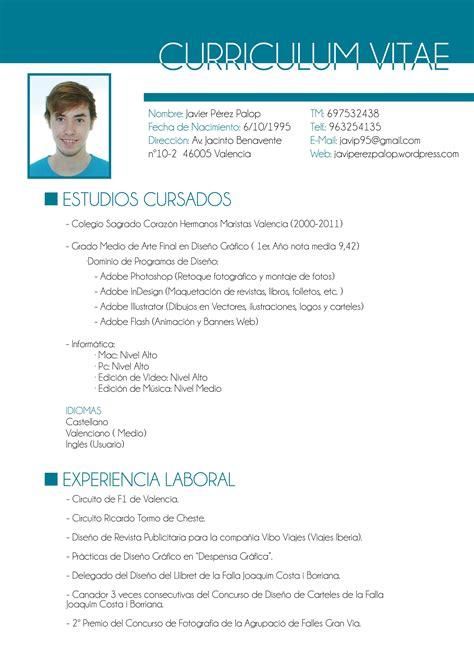 Curriculum Vitae Vs Resume Yahoo by Curriculum Vitae Ejemplo Un New Ejemplos De Cv Exitosos