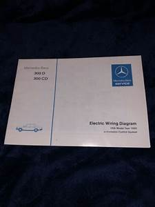Mercedes Benz Electric Wiring Diagram 300d 300cd 1980
