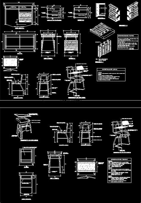 school furniture  autocad cad   kb