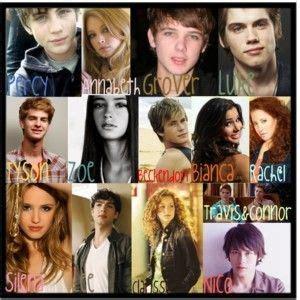 Percy Jackson Dream Cast Heroes Of Olympus Pinterest