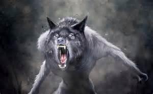 Werewolf Animated Screensaver Desktop