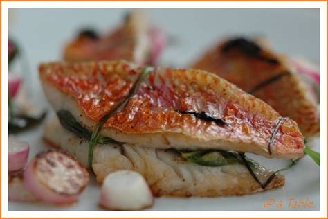 cuisiner du rouget recette n 052 filets de rougets sauce soja balades