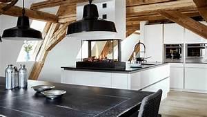 Moderne Küche Mit Insel : moderne insel k che mit kamin youtube ~ Orissabook.com Haus und Dekorationen