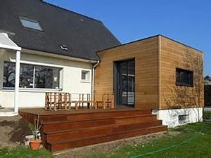 extension bois maison l39habis With creer une maison en 3d 2 chalet bois kit habitable lhabis