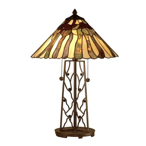 dale tiffany 2 light tiffany table l tt10597 the home
