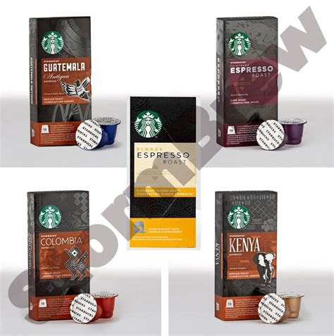 espresso coffee capsules 50 starbucks nespresso espresso coffee capsules pods you