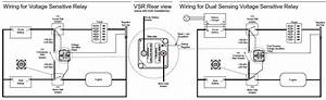 Voltage Sensitive Relay Wiring