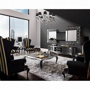 Miroir De Salon : meubles de salon de luxe et miroir tv int gr e venize ~ Teatrodelosmanantiales.com Idées de Décoration