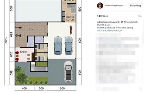 Bakal Bangun Rumah Nikita Mirzani Bikin Salon Kolam